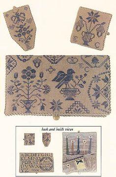 Quaker Schoolgirl Needle Necessities - Cross Stitch Pattern