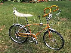 Bicycle Schwinn RAMS HORN Sting-Ray Fastback