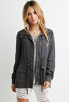 Classic Utility Jacket | Forever 21 - 2000161382