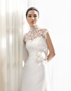 "Bridal dress F2016 by "" 2014 Delsa Fashion collection"""