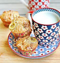 Muffiny bananowe z orzechami Muffin, Cooking, Breakfast, Food, Kitchen, Morning Coffee, Essen, Muffins, Meals