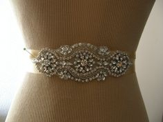 SALE / Wedding Belt, Bridal Belt, Bridesmaid Belt, Sash Belt, Wedding Sash, Bridal Sash, Belt, Crystal Rhinestone & Pearl by FalabellaBridal on Etsy