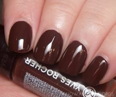 YVES ROCHER BOTANICAL COLOUR NAIL POLISH BROWN