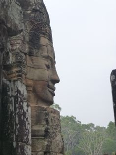 The many temples in Siem Reap, Cambodia