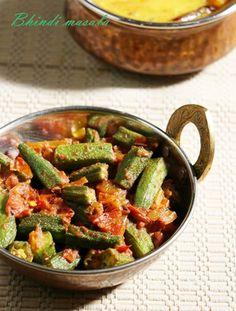 bhindi masala recipe, how to make bhindi masala