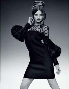 Miranda Kerr in Jalouse (feb-2013) in Gucci SS13
