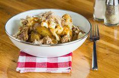 La poutine au porc effiloché et bourbon est une autre délicieuse façon de savourer le porc du Québec. Pour d'autres recettes, consultez notre site Web.