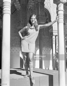 Italian actress Claudia Cardinale during a photoshoot at the Alhambra Granada, Andalusia, Spain. Get premium, high resolution news photos at Getty Images Hollywood Icons, Hollywood Stars, Old Hollywood, Hollywood Glamour, Claudia Cardinale, Classic Actresses, Actors & Actresses, Divas, Non Plus Ultra