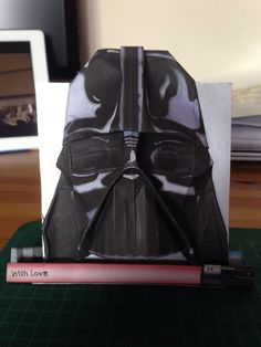 Darth vader origami Birthday card!