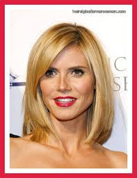 mid length hairstyles for round faces - Google Search
