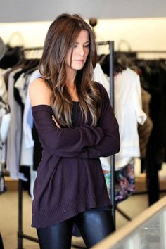 Purple oversized sweater... Perfect for fall