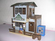 PLAYMOBIL-LGB-ACW-WESTERN-HAUS-NATIONAL-BANK-XXL-UNIKAT-CUSTOM