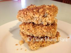 Clean Muesli Bars