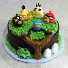 Angry Birds Cakes Designs Ideas, Star Wars Angry Birds Cake