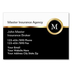 215 Best Auto Insurance Business Cards