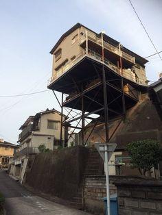 【画像】広島・呉にある家が怖すぎると話題に|ラビット速報