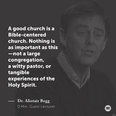 A good church is a Bible-centered church. #TMSdmin