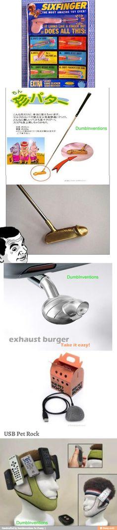 Dumb inventions
