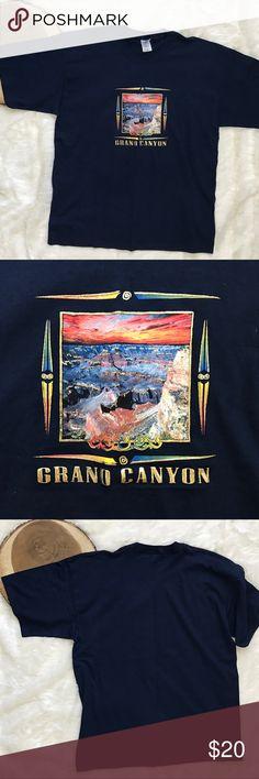 Men's T-Shirt Grand Canyon Gildan T-Shirt Men's Grand Canyon Graphics Gildan Shirts Tees - Short Sleeve