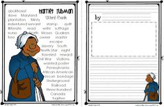 Sailing Through 1st Grade: Harriet Tubman