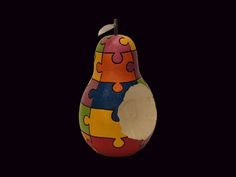A MEGA jigsaw pear.