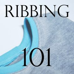 Seiwng Ribbing Tutorial - t-shirt neck