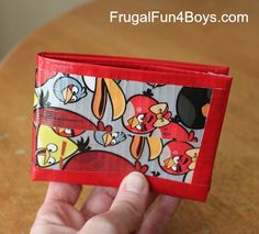 Fun for all ages , crafts , wallet ,How to make a duct tape wallet