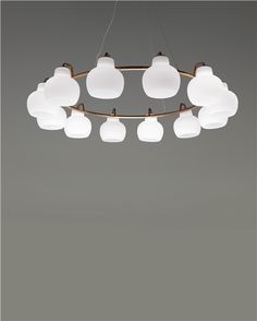 This is really pretty if you thought a round chandelier could go over a rectangular table and if it is big enough - VILHELM LAURITZEN, Large 'Christiansborg' chandelier