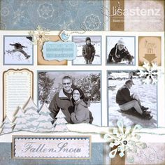 Lisa's Creative Corner: Frosted Layout