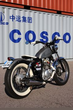 Suzuki GN125 By Old School Engineering ♠ http://milchapitas-kustombikes.blogspot.com/ ♠