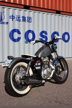 Suzuki GN125 By Old School Engineering ♠ http://milchapitas-kustombikes.blogspot.com/ ♠