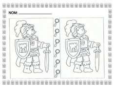 What Is Different Worksheet. Chateau Fort Moyen Age, Castles Topic, Castle Crafts, Dragons, Maila, Hidden Pictures, Fun Worksheets, Scottish Castles, Stories For Kids