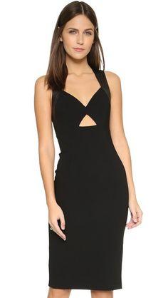 alice + olivia Hera Cutout Dress