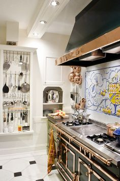 La cornue on pinterest range cooker stove and chateaus - La cornue chateau 90 ...