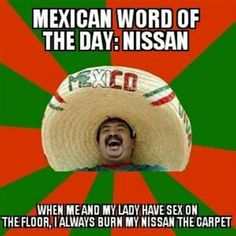 Mexican word of the day:
