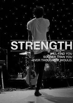 want this lyric tattooed on me