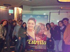 Con amigos en el estreno!