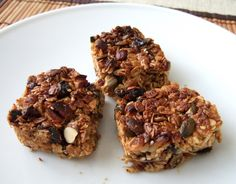 Pecan and coconut cereal bar - CookTogether Cereal Bars, Pecan, Muffin, Coconut, Sugar, Breakfast, Easy, Desserts, Recipes