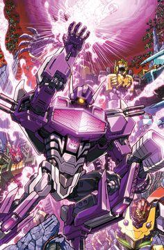 Transformers - Dark Cybertron Part 10 by Alex Milne, colours by Josh Perez *