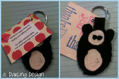panda keychains! For Sale $1.25 each  free shipping!