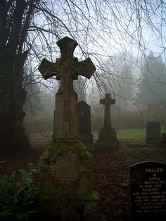 Greenock Cemetery, Scotland - I love the old cemeteries... there's so much character to them (even a little... chill... perhaps?)