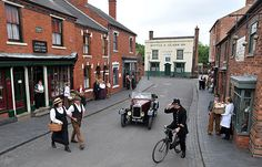 The Black Country Living Museum: The story of the Black Country is distinctive because of the scale, drama, intensity and multiplicity of the industrial might that was unleashed. It first emerged in the 1830's, creating the first industrial landscape anywhere in the world. It is this that we rejoice in and want to share with you.