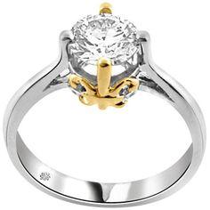 1.01 Carat Lola Diamond 14Kt White Yellow Gold Engagement Ring http://1tagdeals.com/fashion/shop/1-01-carat-lola-diamond-14kt-white-yellow-gold-engagement-ring/
