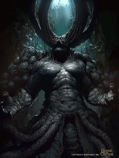 Demonio del abismo legend of the cryptids