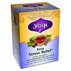 Stress and anxiety relief- kava kava to ease the mind, cinnamon bark to help your headache.