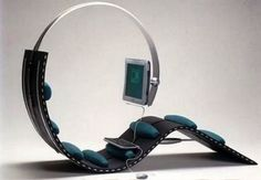 Cool and Modern Futuristic Cozy Game Chair Design | Pictures ...