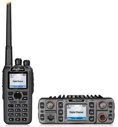 AnyTone announces the AnyTone dual band VHF/UHF DMR portable radio and the AnyTone monoband DMR mobile radio. Citizen Band, Radio Usa, Ham Radio Antenna, Water Storage, Food Storage, Modern Tech, Digital Radio, Two Way Radio, Travel Design