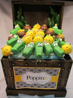 Alligator Adventure Birthday Party Pops by Poppinz.