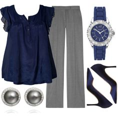 "Love this look :). ""Teacher, Teacher 60"" by qtpiekelso on Polyvore"