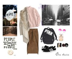 """""""One desire"""" by bellcara on Polyvore featuring Mode, Joseph, J.Crew, adidas Originals, River Island, Victoria's Secret, Janis, Elie Saab, Chanel und Art for Life"""